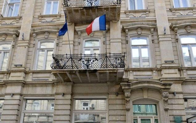 Fransanın Azərbaycandakı səfirliyi vizaların verilməsini dayandırdı