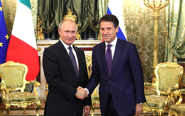 Putin İtaliyaya kömək edəcəyinə söz verdi