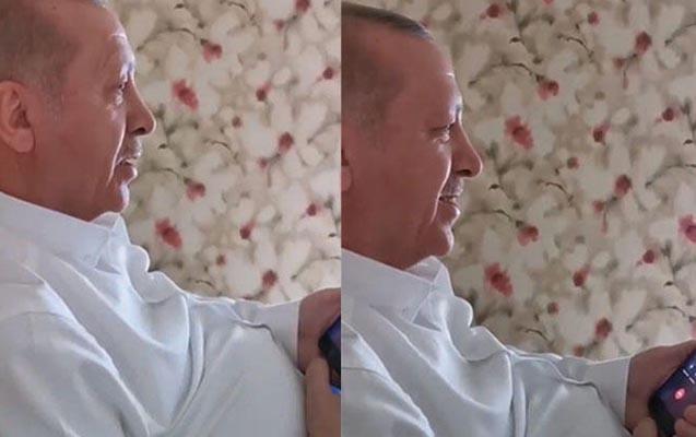 Ərdoğan yaşlı qadına zəng edib xəbərdarlıq etdi - Video