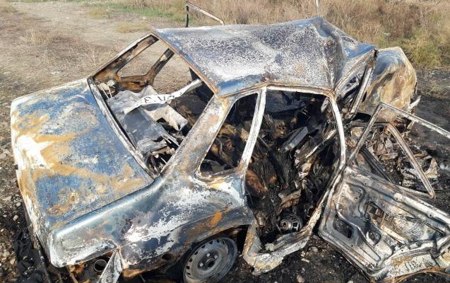4 yaşlı uşaq avtomobildə yanaraq öldü