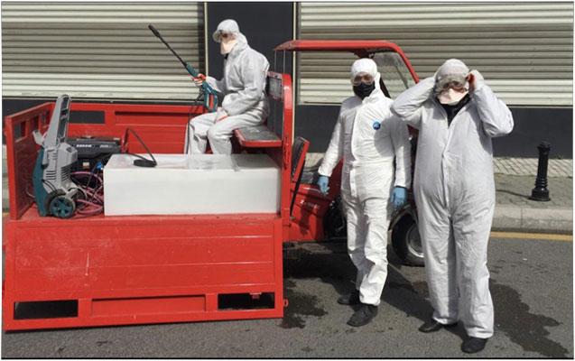 Nəsimi rayonu ərazisində dezinfeksiya tədbirləri davam etdirilir