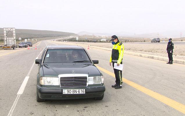 6164 avtomobil Bakı və Sumqayıta buraxılmayıb