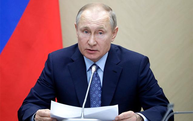 Putin Rusiyada 1 həftə qeyri-iş günü elan etdi