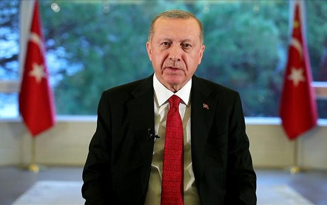 """Ərdoğandan Türkiyə xalqına """"Evdə qal"""" çağırışı - Video"""
