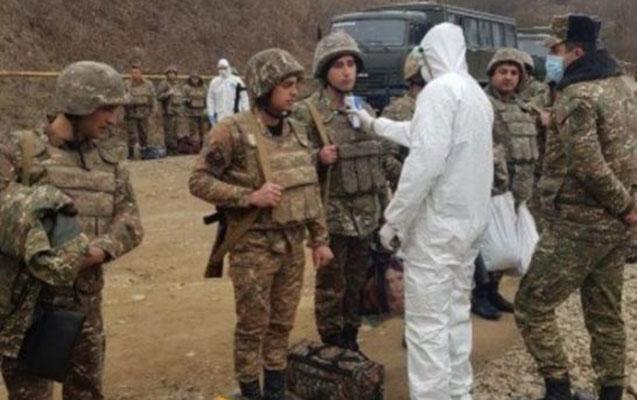 Ermənistanda hərbçilər koronavirusa yoluxdu