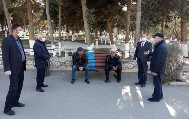 Suraxanıda park və istirahət məkanlarına giriş məhdudlaşdırıldı