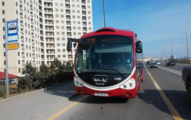 Üç sərnişin avtobusunun hərəkət sxemi dəyişdirildi