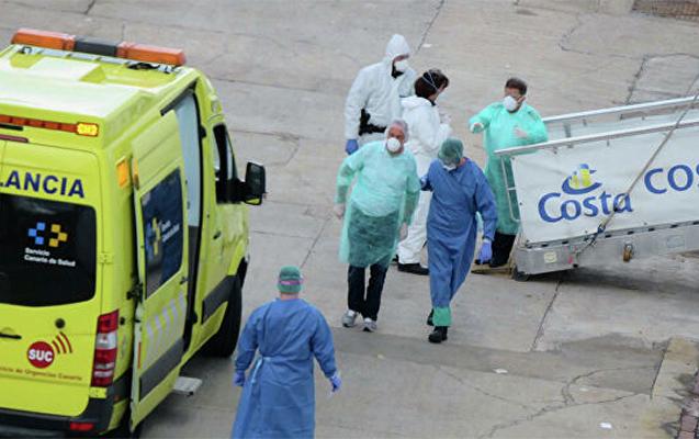 İspaniyada 12 mindən çox tibb işçisi koronavirusa yoluxub