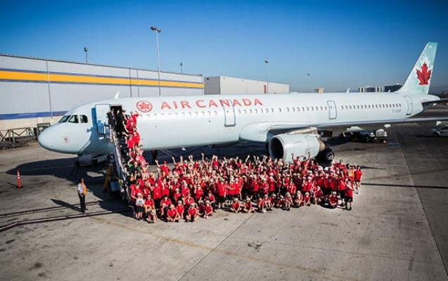 """""""Air Canada"""" 15 mindən çox işçisini ixtisar edir - Koronavirusa görə"""