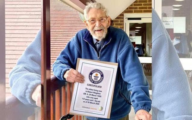 """Ən yaşlı kişi kimi """"Ginnnesin Rekordlar Kitabı""""na düşdü - Video"""
