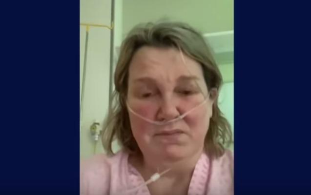 Koronaviruslu britaniyalı xəstəliyin dəhşətli nəticələrindən danışdı - Video