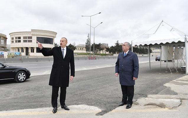Prezident Bakı-Sumqayıt yolundakı vəziyyətlə maraqlandı