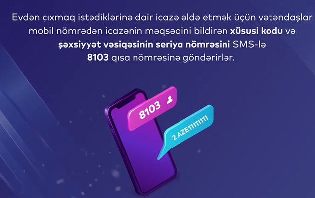 SMS-lə icazə almaq üçün