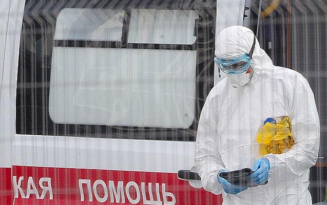 Rusiyada koronavirusa yoluxanların sayı 7 mini keçdi