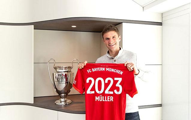 """""""Bavariya"""" Müllerlə müqaviləni yenilədi"""