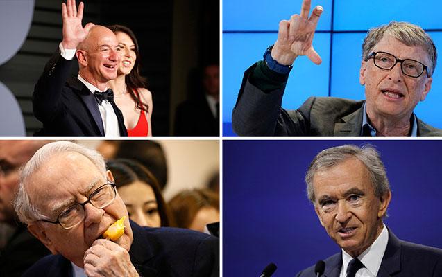 """""""Forbes"""" dünyanın ən varlı insanlarını açıqladı"""