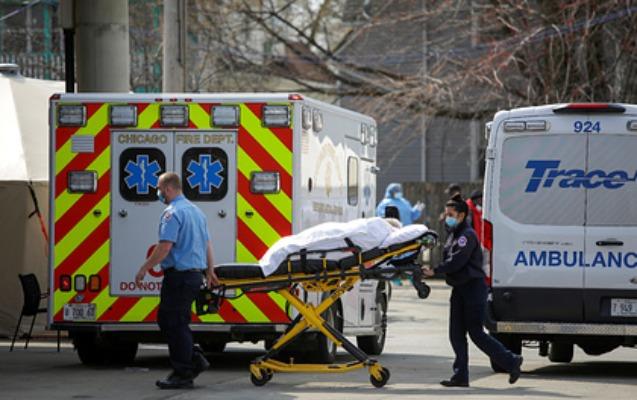 ABŞ-da sutka ərzində virusdan rekord sayda insan öldü