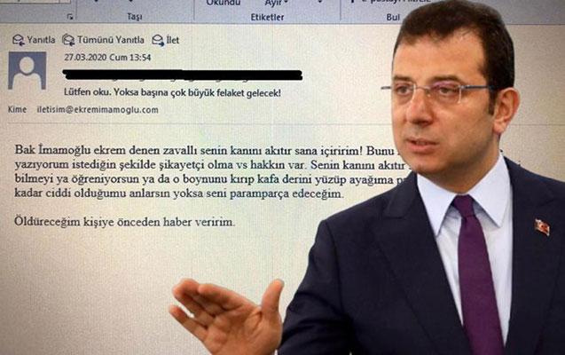 İmamoğlunu ölümlə hədələyən şəxs saxlanıldı