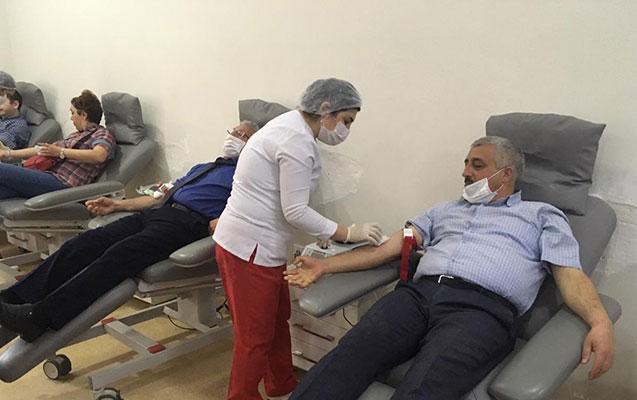 """ETSN və ekokönüllülər """"Könüllü Donor"""" kampaniyasına qoşuldu"""