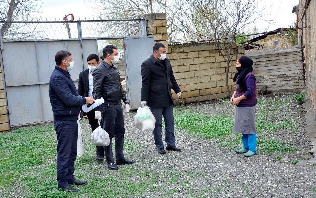 Ağdam icrasından 45750 manatlıq ianə, yüzlərlə ailəyə ərzaq payı