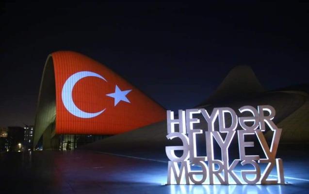Heydər Əliyev Mərkəzi Türkiyəyə dəstək oldu