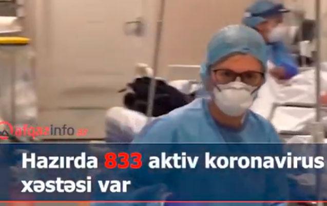 Koronavirusla bağlı rəqəmlər dəyişir - Video