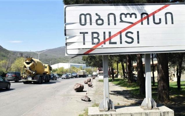 Tbilisi və Gürcüstanın 3 böyük şəhəri koronavirus səbəbindən bağlandı - Video