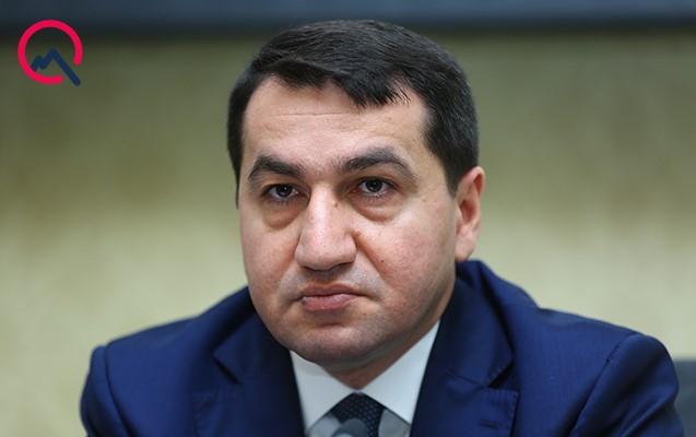"""""""Paşinyan bununla özünü məsxərəyə qoydu"""" - Hikmət Hacıyev"""