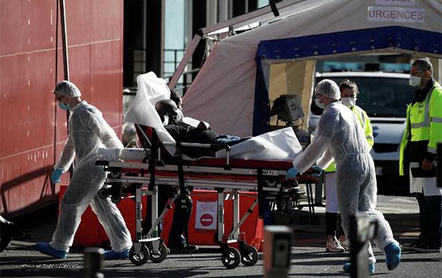 Fransada daha 544 nəfər koronavirusdan öldü
