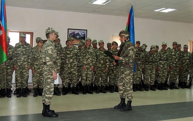 Azərbaycan Ordusundan tərxis başladı