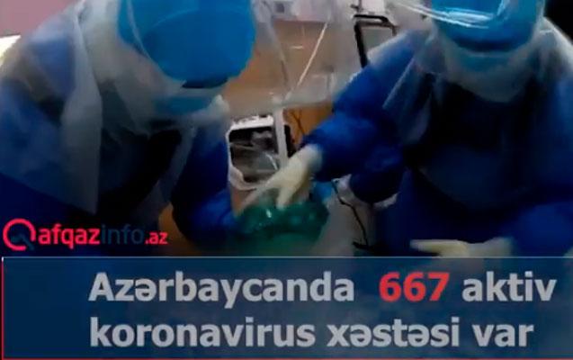 Koronavirusla bağlı rəqəmlər dəyişir