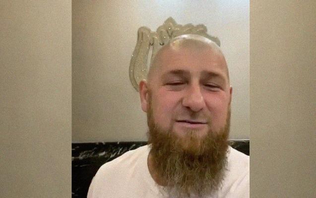 Kadırov saçını keçəl qırxdırdı - Video