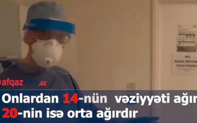 Koronavirusla bağlı son rəqəmlər