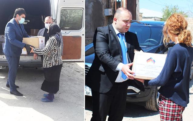 """Almaniyadakı """"Azərbaycan evi"""" 800-dən çox ailəyə maddi yardım göstərib"""