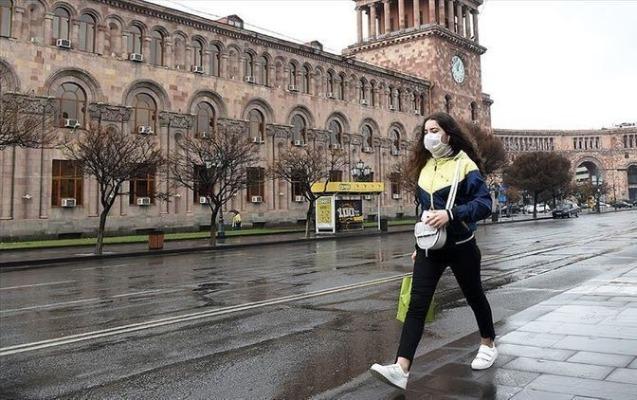 Ermənistanda yoluxanların sayı 43 mini ötüb