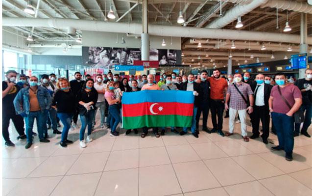 Dubaydan 149 Azərbaycan vətəndaşı gətirildi