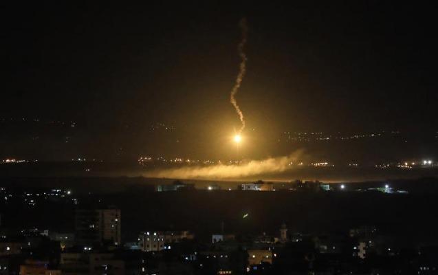 İsrail Suriyaya raket zərbələri endirdi