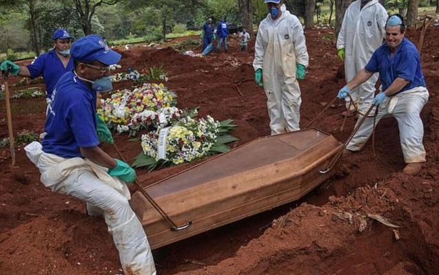 Braziliyada koronavirusdan ölənlərin sayında rekord
