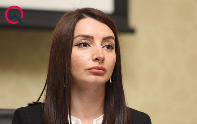 Leyla Abdullayeva Ermənistan prezidentinə cavab verdi
