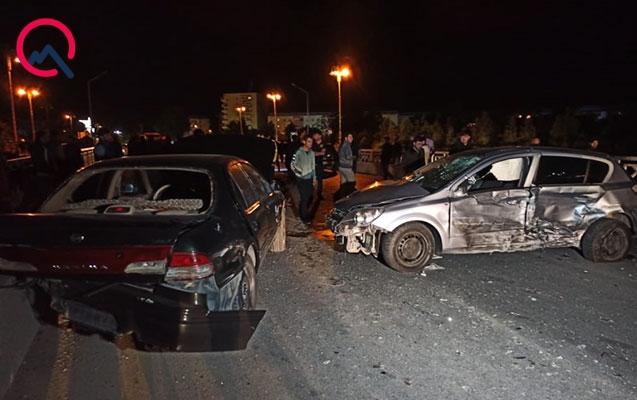 Beyləqandakı qəzada ata öldü, oğlu yaralandı
