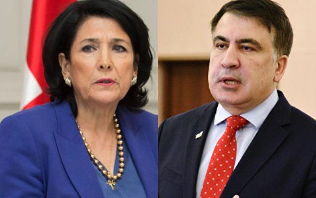 Zurabişvilidən Saakaşvilinin Ukraynada vəzifəyə təyin olunmasına reaksiya
