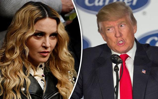 Trampdan 42, Madonnadan isə 1 milyon tələb edirlər
