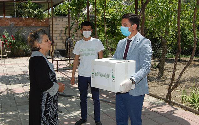Şirvanda Ramazan bayramı münasibətilə daha bir sosial aksiya keçirildi
