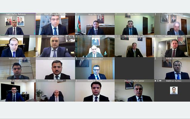 Sahil Babayev iclas keçirdi
