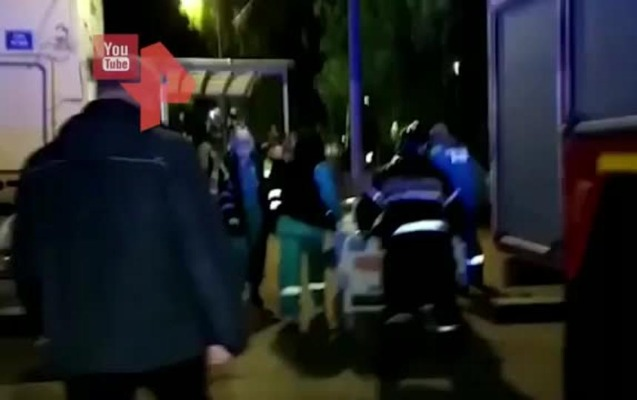 Rusiyada xəstəxanada yanğın