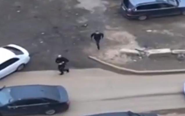 Moskvada iki qrup arasında silahlı atışma + Video