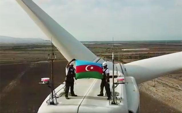 """""""Azərenerji"""" Respublika Günü ilə bağlı videoçarx yaydı"""