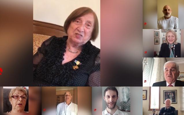 Cümhuriyyəti quranların varislərindən Azərbaycana təbrik - Video