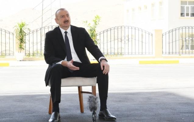 """""""O saxta prezidenti heç kim tanımadı"""" - İlham Əliyev"""