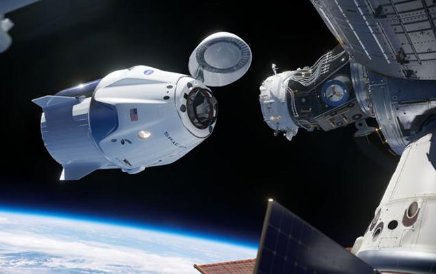 """""""Crew Dragon"""" Beynəlxalq Kosmik Stansiyaya çatdı - Canlı"""